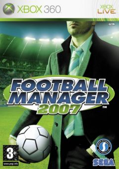 Jaquette de Football Manager 2007 Xbox 360