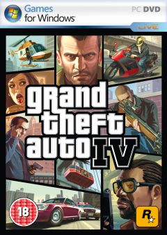 Jaquette de Grand Theft Auto IV PC