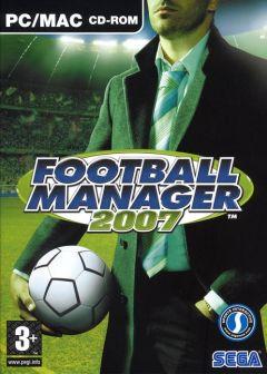 Jaquette de Football Manager 2007 PC