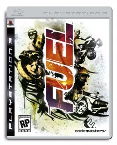 Jaquette de FUEL PlayStation 3