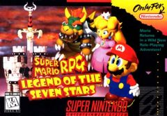 Jaquette de Super Mario RPG : Legend of the Seven Stars Super NES