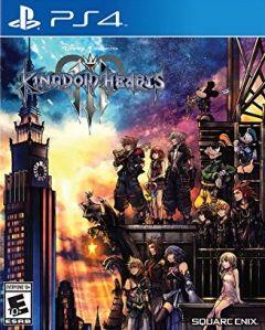 Jaquette de Kingdom Hearts III PS4