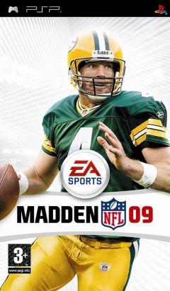 Jaquette de Madden NFL 09 PSP