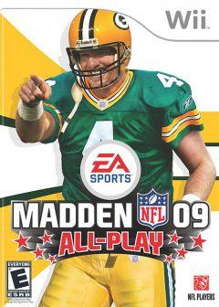 Jaquette de Madden NFL 09 Wii