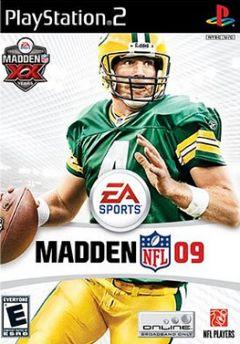 Jaquette de Madden NFL 09 PlayStation 2