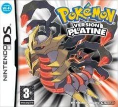 Jaquette de Pokémon Platine DS