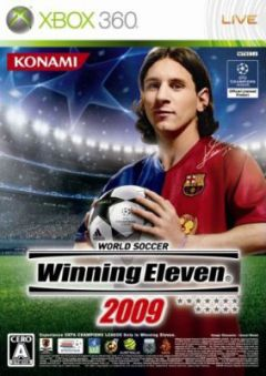 Jaquette de Winning Eleven 2009 Xbox 360