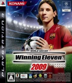 Jaquette de Winning Eleven 2009 PlayStation 3