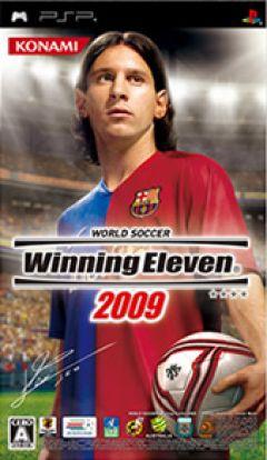Jaquette de Winning Eleven 2009 PSP