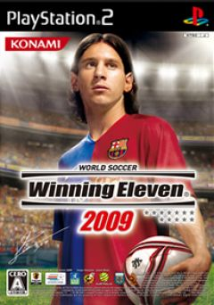 Jaquette de Winning Eleven 2009 PlayStation 2