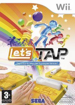 Jaquette de Let's Tap Wii
