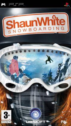 Jaquette de Shaun White Snowboarding PSP