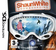Jaquette de Shaun White Snowboarding DS