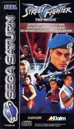 Jaquette de Street Fighter : The Movie Sega Saturn