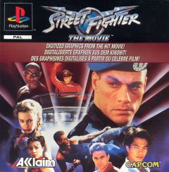Jaquette de Street Fighter : The Movie PlayStation