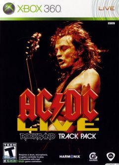 Jaquette de AC/DC LIVE : Rock Band Track Pack Xbox 360