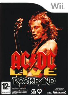 Jaquette de AC/DC LIVE : Rock Band Track Pack Wii