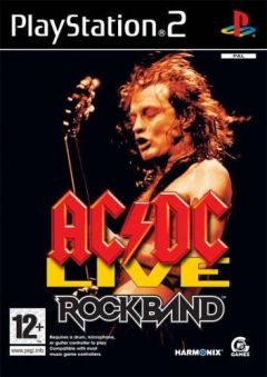 Jaquette de AC/DC LIVE : Rock Band Track Pack PlayStation 2