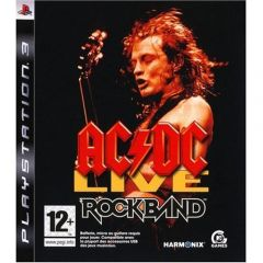 Jaquette de AC/DC LIVE : Rock Band Track Pack PlayStation 3