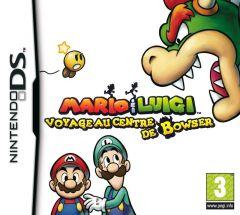 Jaquette de Mario & Luigi : Voyage au Centre de Bowser DS