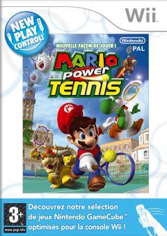 Jaquette de Mario Power Tennis Wii