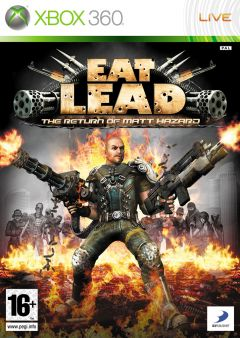 Jaquette de Eat Lead : The Return of Matt Hazard Xbox 360