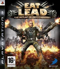 Jaquette de Eat Lead : The Return of Matt Hazard PlayStation 3