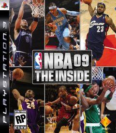 Jaquette de NBA 09 The Inside PlayStation 3