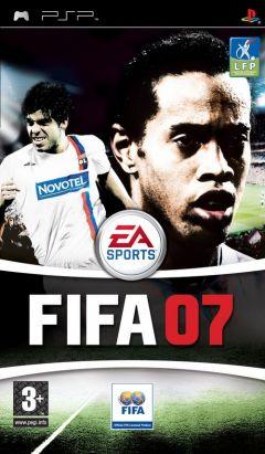 Jaquette de FIFA 07 PSP