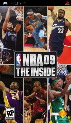 Jaquette de NBA 09 The Inside PSP