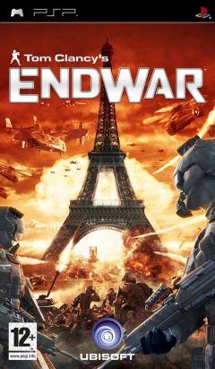 Jaquette de Tom Clancy's EndWar PSP