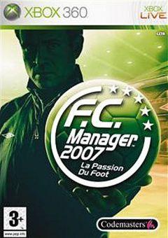 Jaquette de F.C. Manager 2007 Xbox 360
