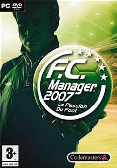Jaquette de F.C. Manager 2007 PC