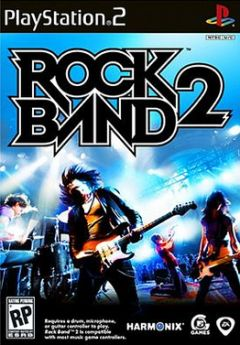 Jaquette de Rock Band 2 PlayStation 2