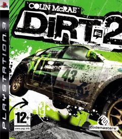Jaquette de Colin McRae : DiRT 2 PlayStation 3