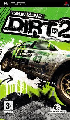 Jaquette de Colin McRae : DiRT 2 PSP