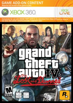 Jaquette de Grand Theft Auto�IV�: The Lost and Damned Xbox 360