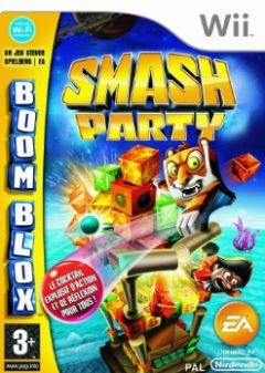 Jaquette de Boom Blox  Smash Party Wii