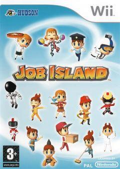 Jaquette de Job Island Wii