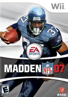Jaquette de Madden NFL 07 Wii