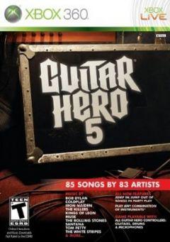 Jaquette de Guitar Hero 5 Xbox 360