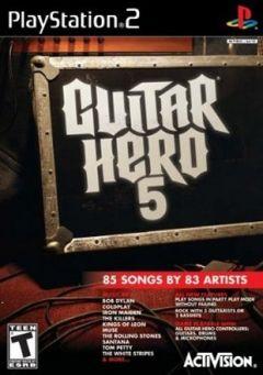 Jaquette de Guitar Hero 5 PlayStation 2