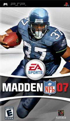 Jaquette de Madden NFL 07 PSP