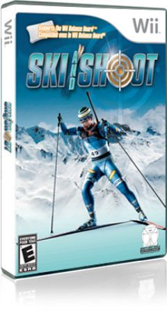 Jaquette de Ski and Shoot Wii