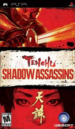 Jaquette de Tenchu Shadow Assassins PSP