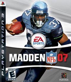 Jaquette de Madden NFL 07 PlayStation 3