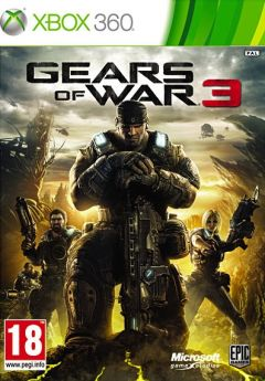 Jaquette de Gears of War 3 Xbox 360