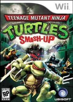 Jaquette de Teenage Mutant Ninja Turtles : Smash Up Wii