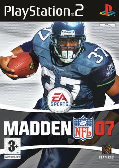 Jaquette de Madden NFL 07 PlayStation 2