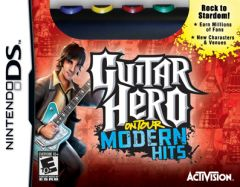 Jaquette de Guitar Hero On Tour : Modern Hits DS